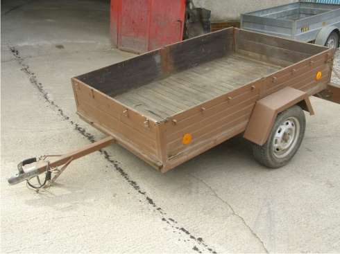 Požičovňa áut prívesov trailerov