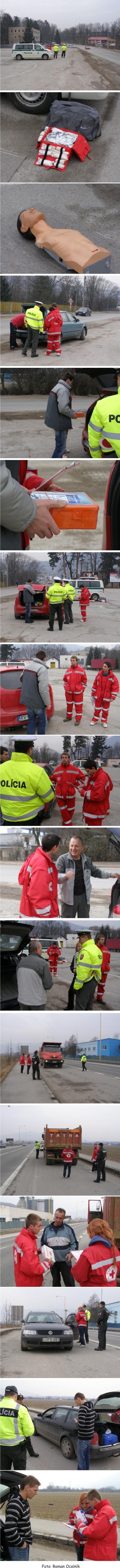 policajná dopravno - bezpečnostná akcia