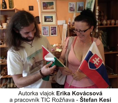 Vlajka Slovenská a maďarská republika