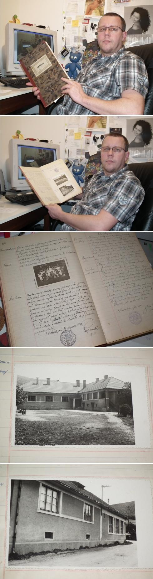 Nadabula - kronika školy - 1899 - 1960