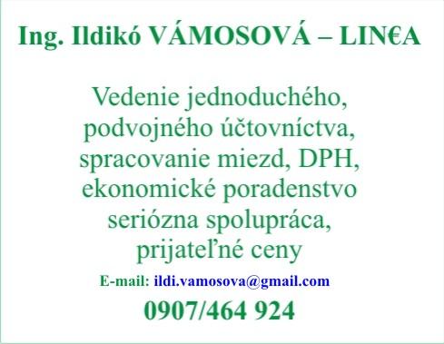 LIN€A - účtovníctvo