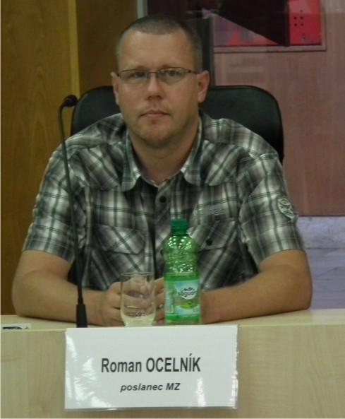 Roman Ocelník, poslanec MZ Rožňava