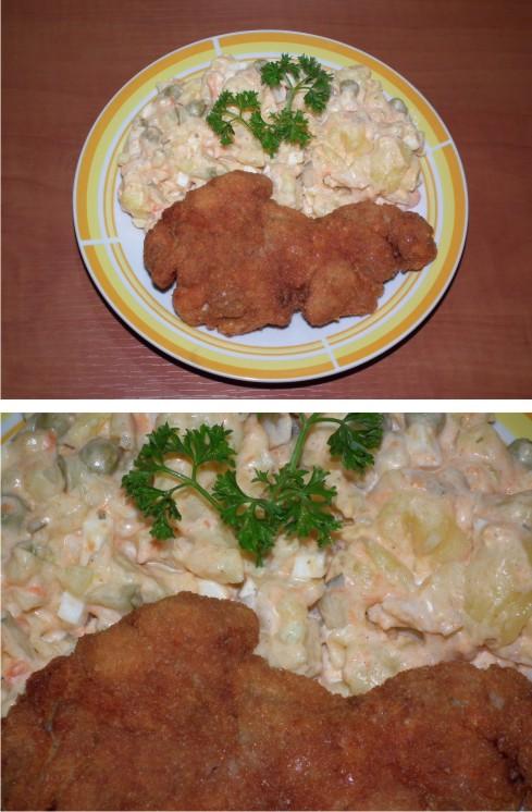 zemiakový šalát
