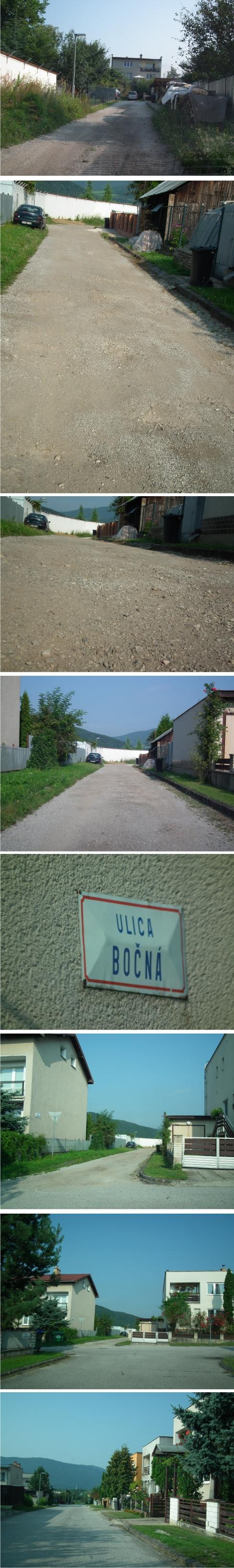 Rožňava - Bočná ulica