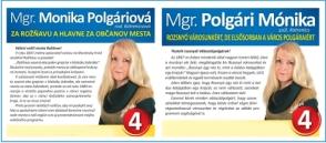 Mgr. Monika Polgáriová