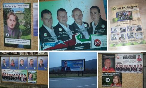 kandidáti na starostu a poslancov