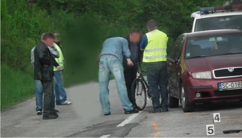 Na Betliarskej ceste sa ťažko zranil cyklista